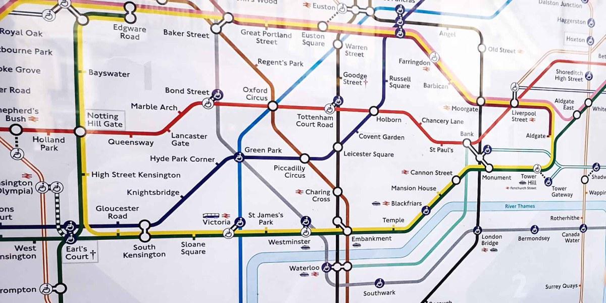 London Underground Plan