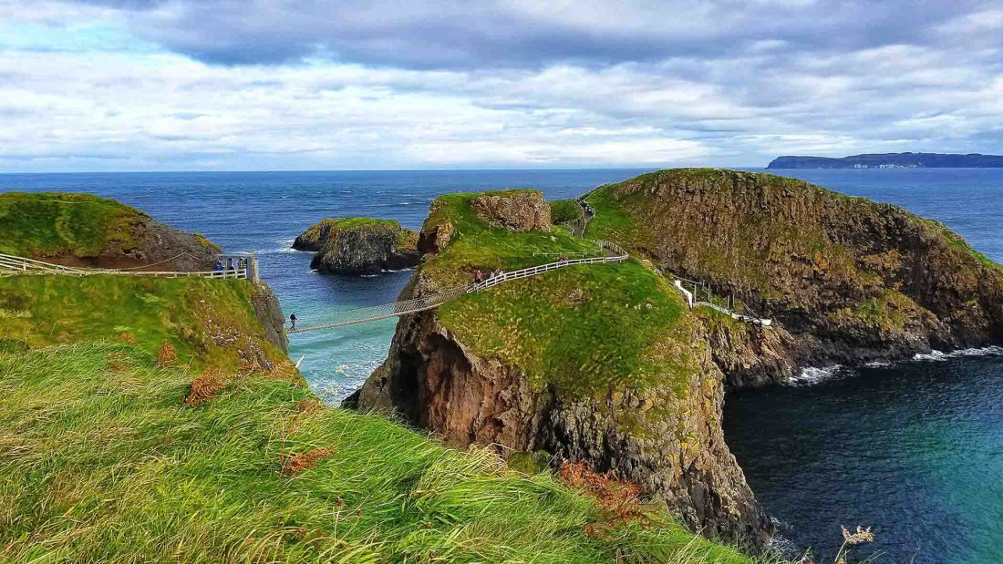 Küste im Norden Nordirlands