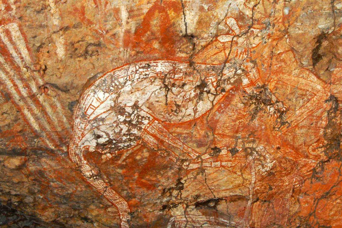 Felsmalereien, Kakadu National Park, Australien