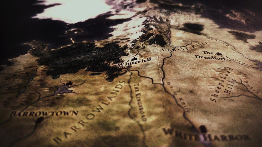 Karte von Westeros