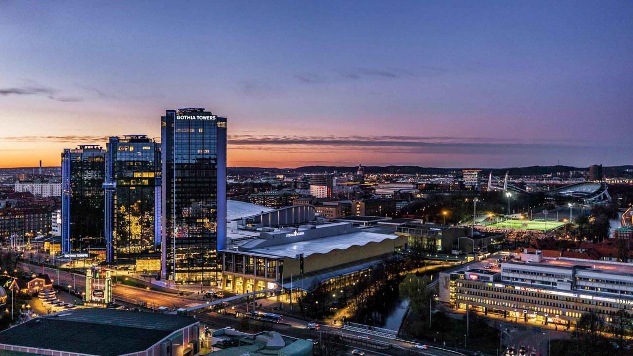 Göteborg bei Nacht