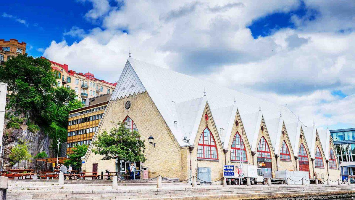 Die Fischkirche Feskekôrka