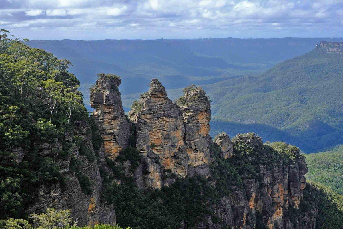 Blue Mountains, Three Sisters, Australien