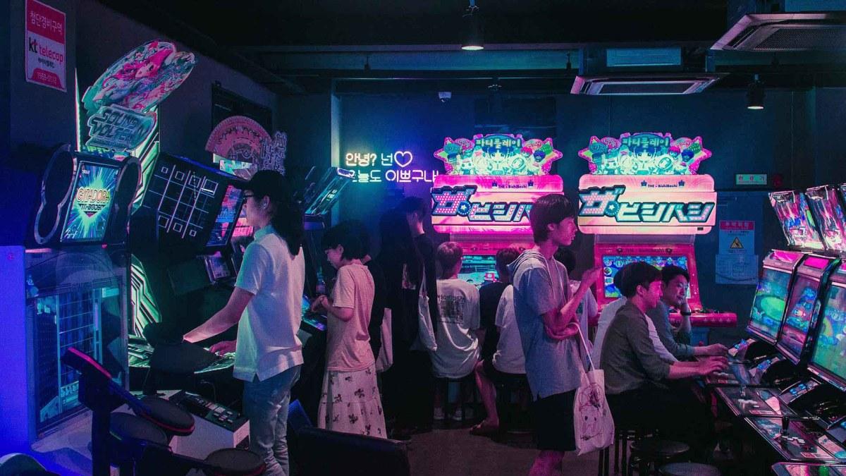 Innerhalb einer Arcade