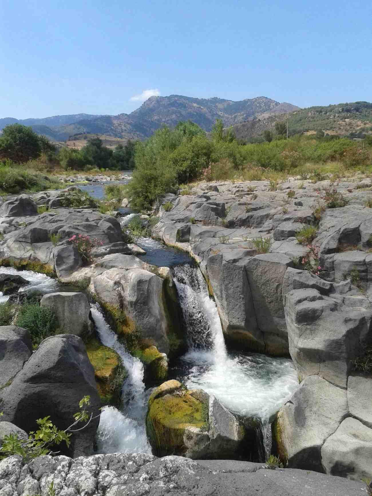 Alcantara, Flusspark, Sizilien