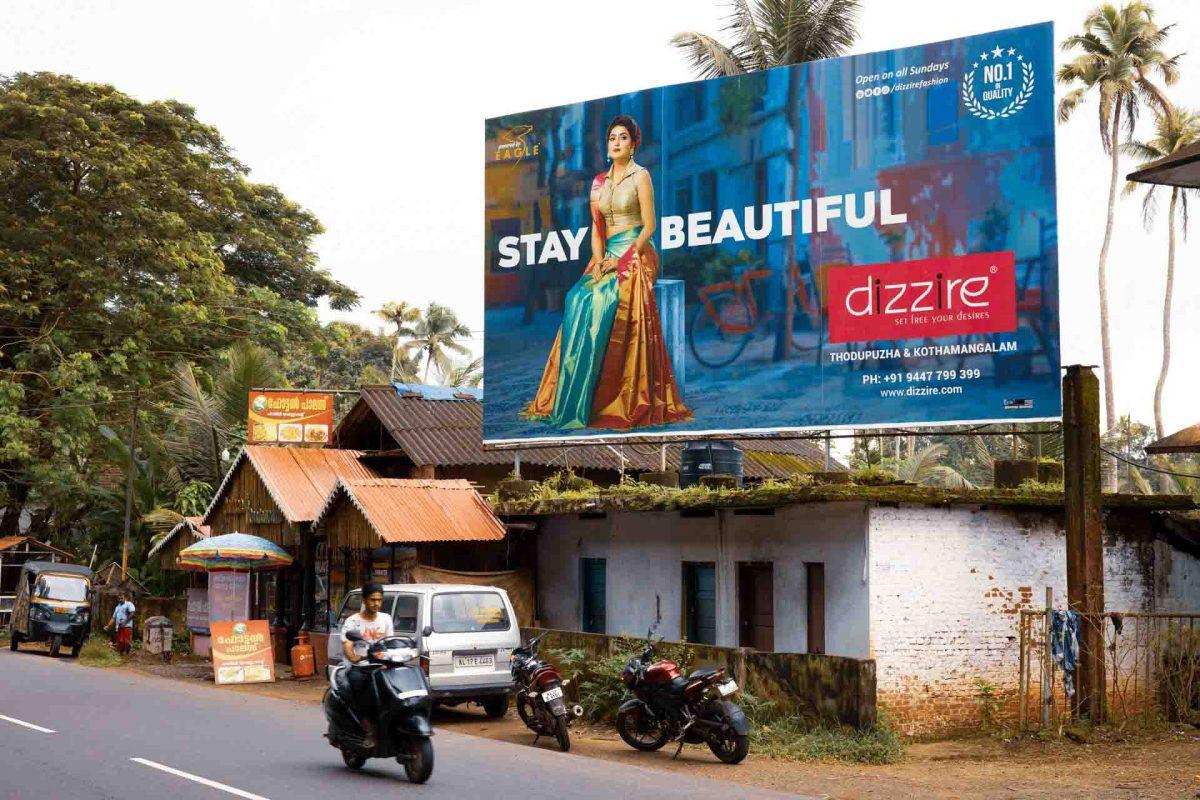 Kerala Werbeposter Thodupuzha