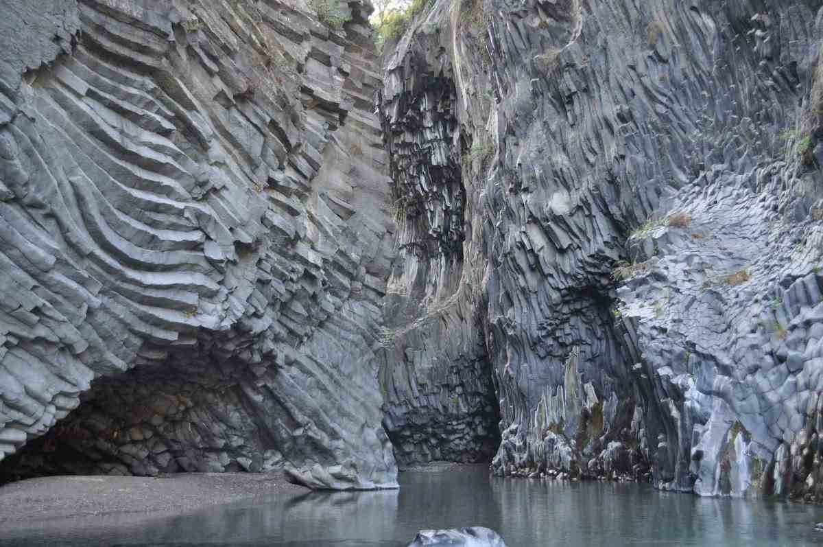 Gole dell'Alcantara, Schluchten, Sizilien
