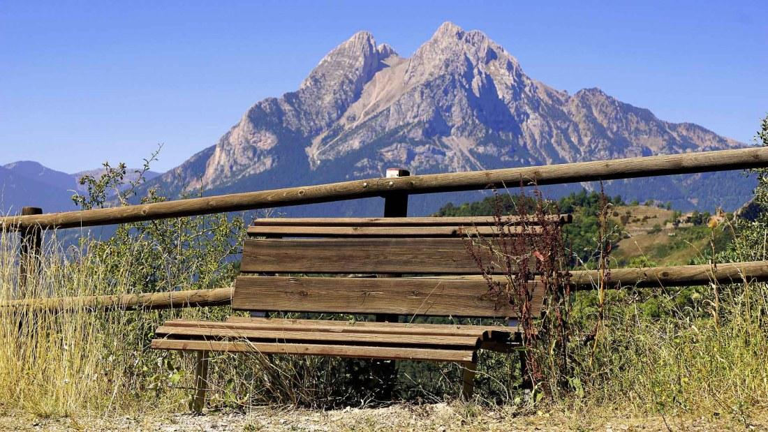 Pyrenäen Sitzbank