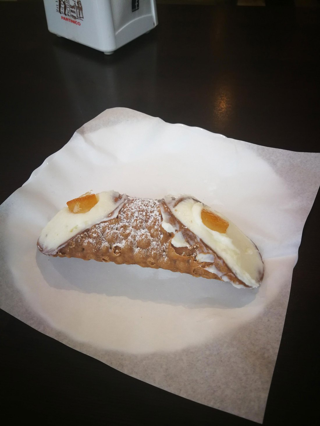 Cannolo, Palermo, Sizilien