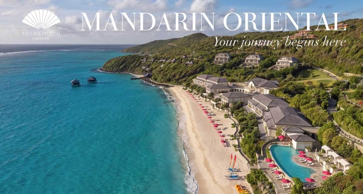 Mandarin Oriental Canouan Brochure Titelseite