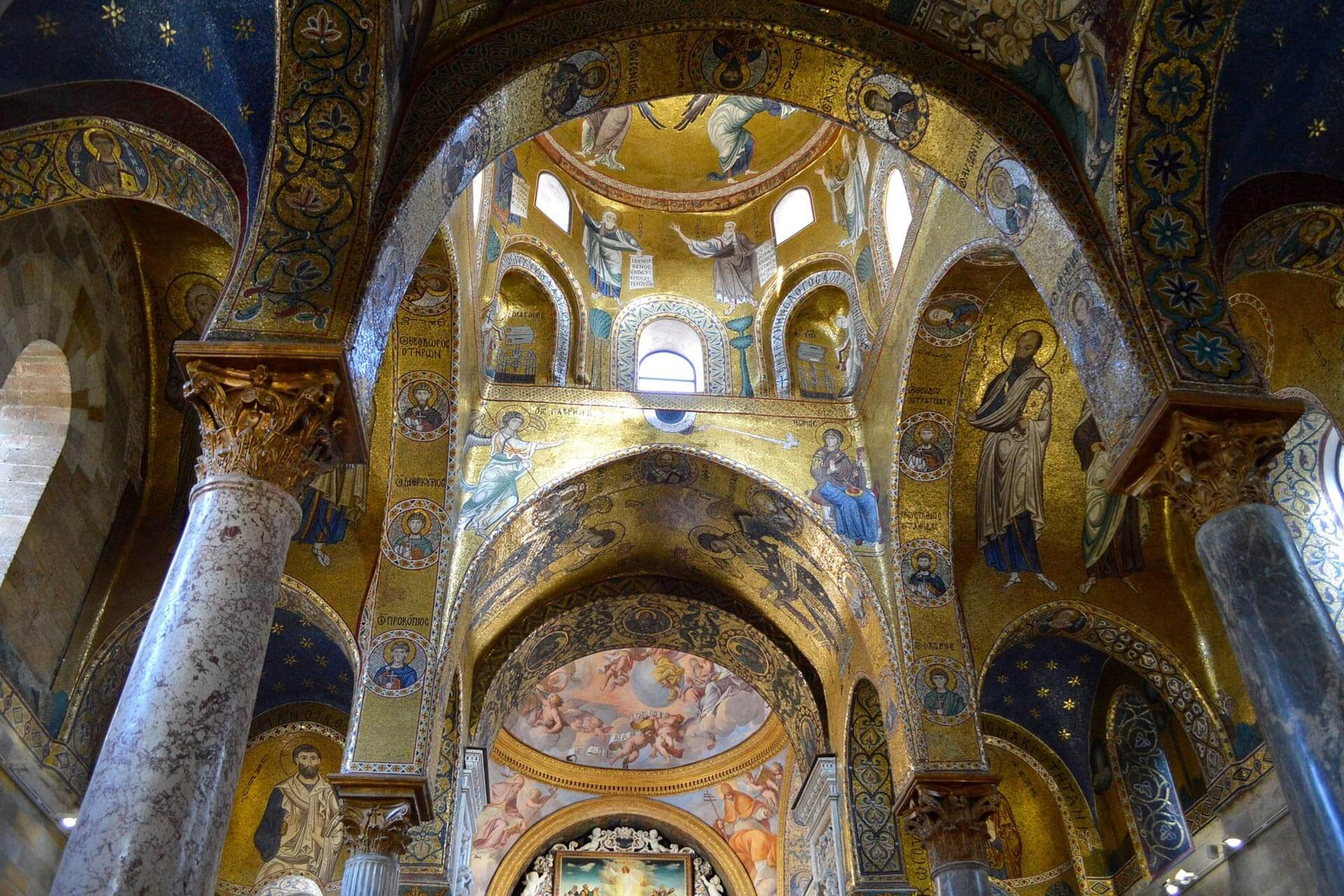 Palermo. Martorana Kirche