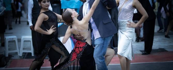 Buenos Aires Tango Avenida Florida