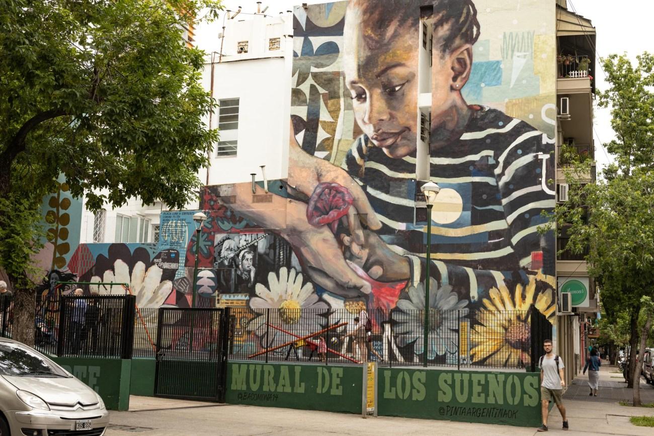Buenos Aires Barrio Palermo, Street Art