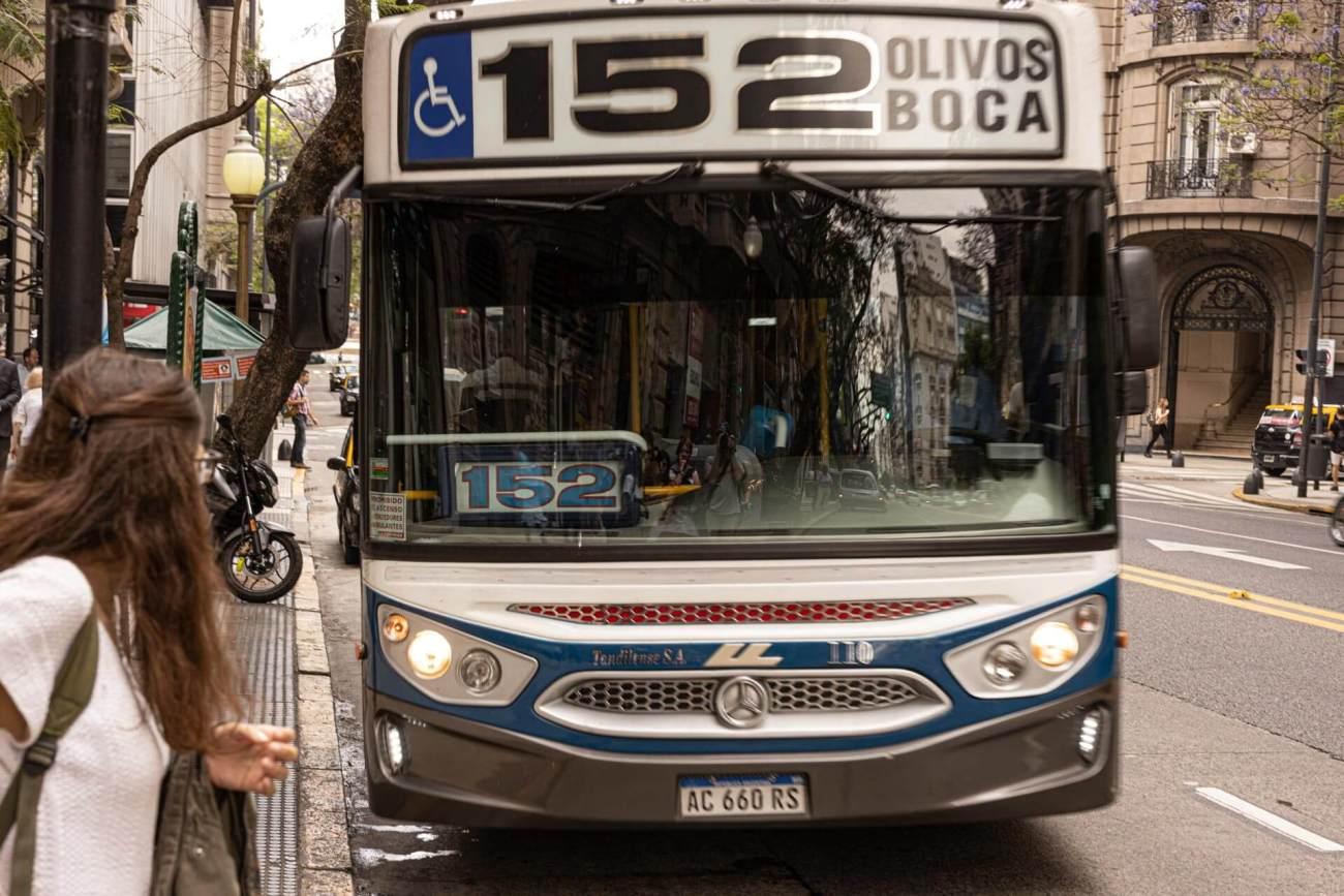 152 Bus, La Boca, Buenos Aires