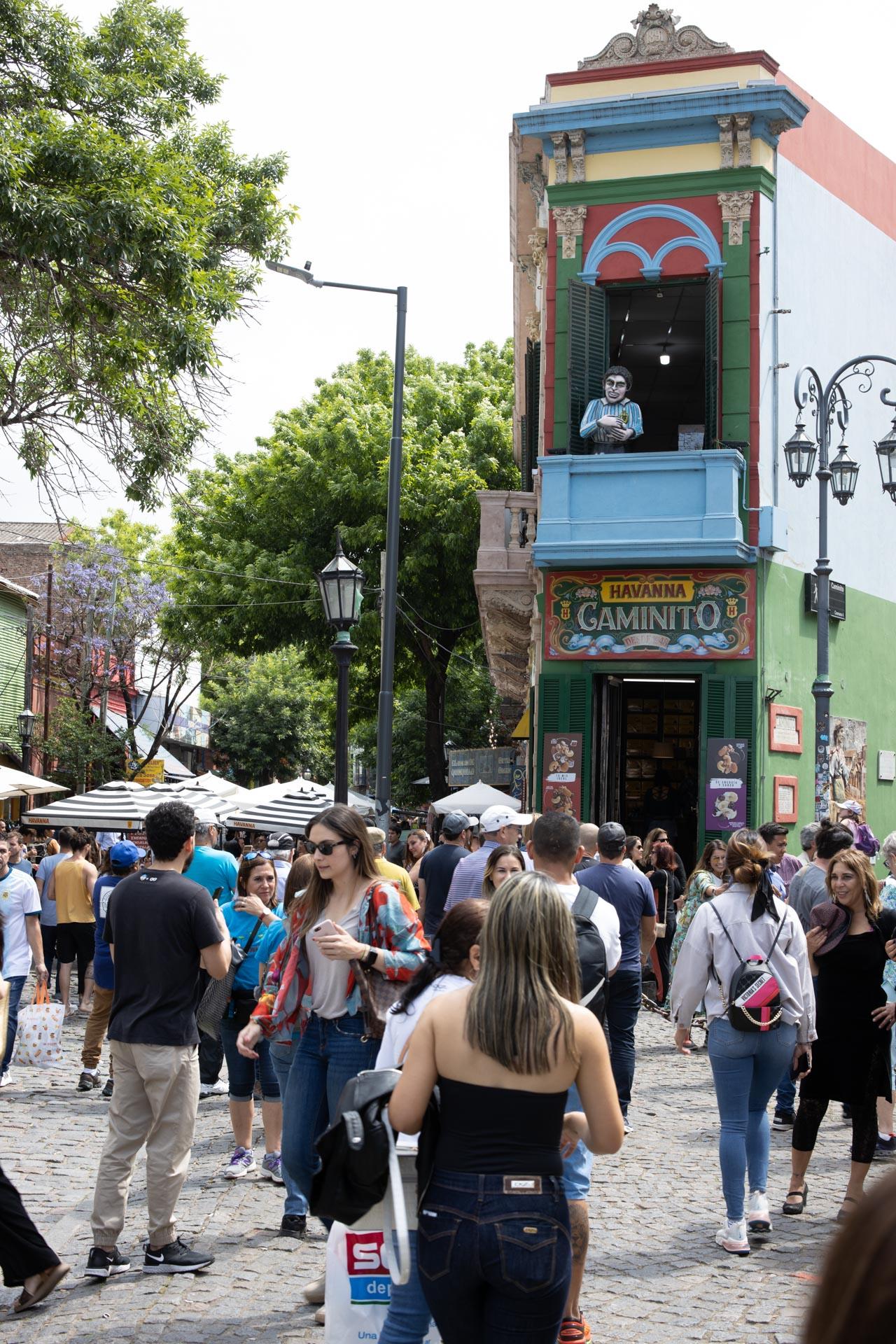 Straßen von Buenos Aires