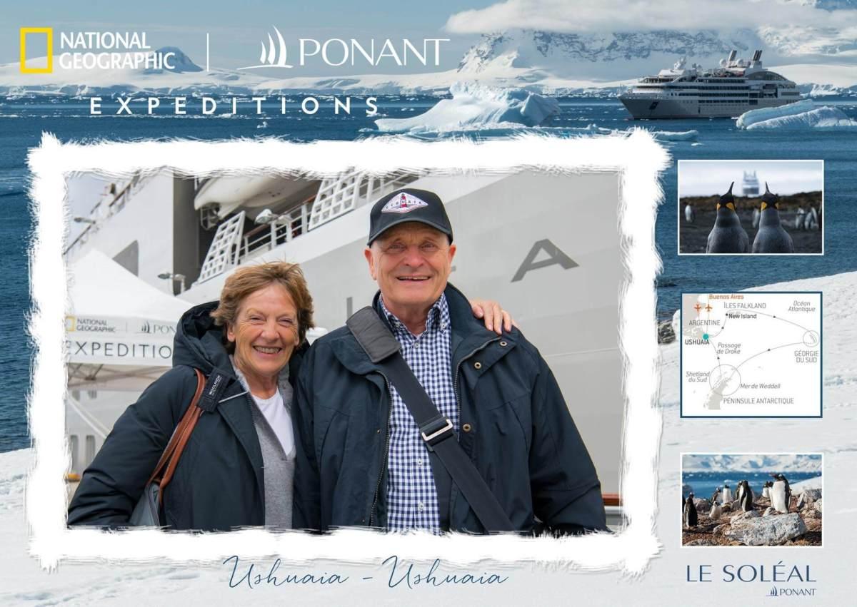 Le Soleal, Ponant Cruises, Einschiffungsfoto