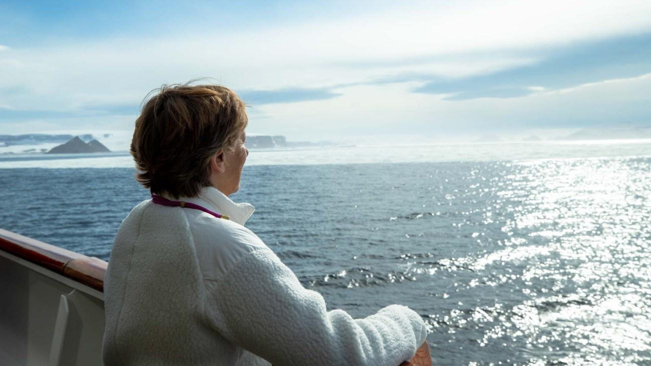 Abschied von der Antarktis Kreuzfahrt