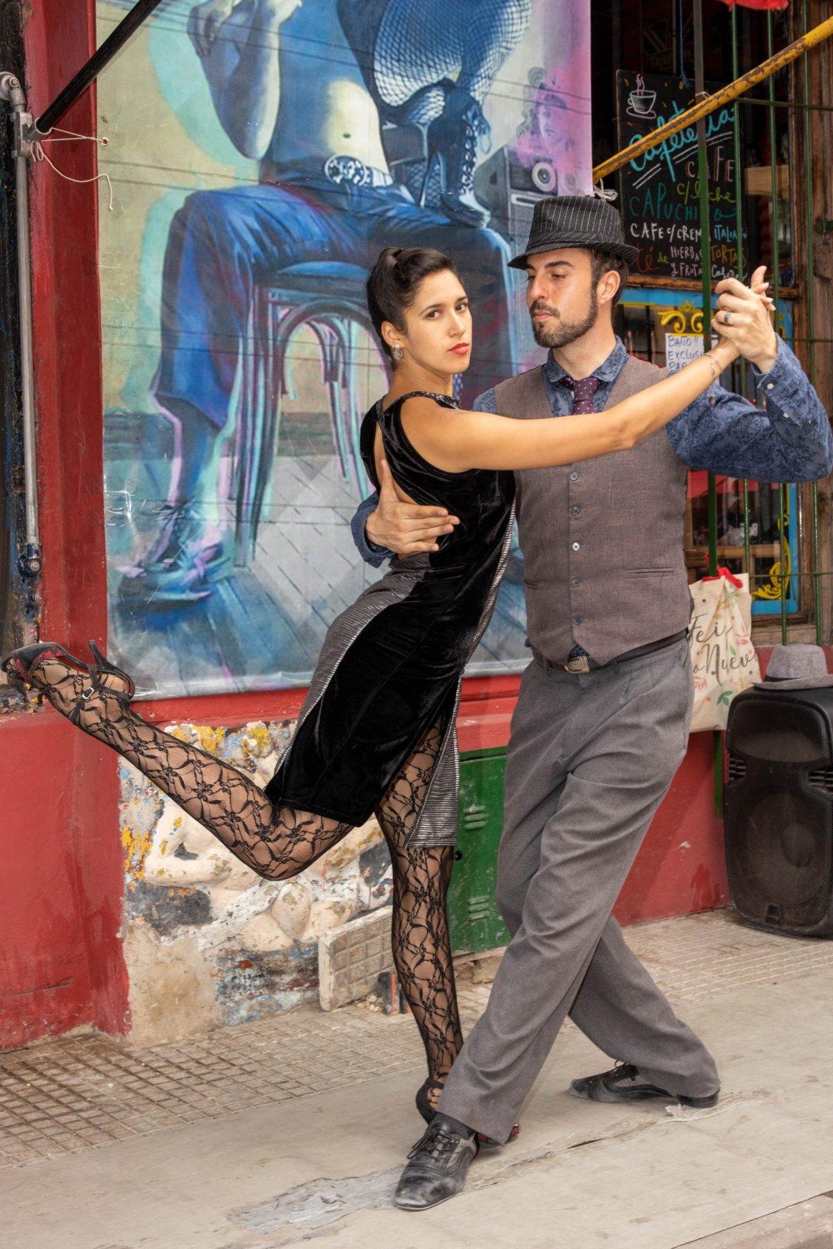 Tango Argentina, La Boca