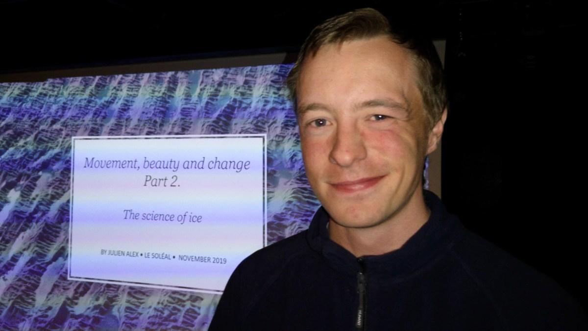 Julien Alex, Gletscher Forscher