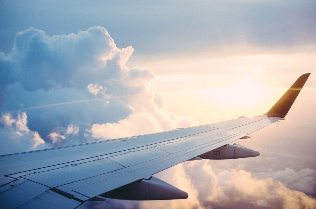 Flug nach Neuseeland