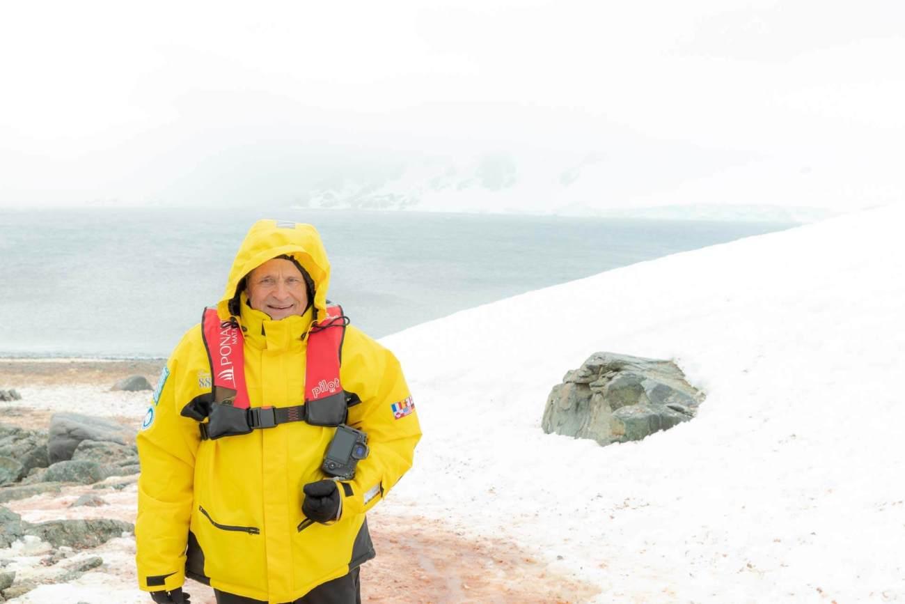 Bernd Schray, Half Moon Bay, South Shetland Islands