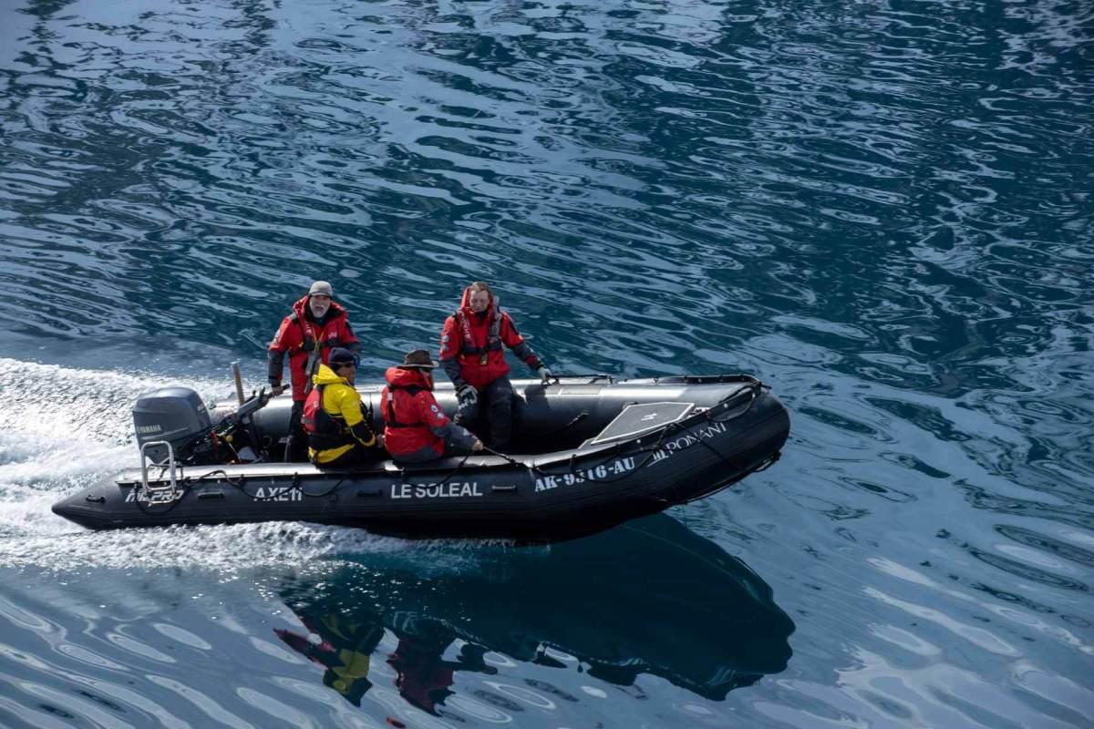 John Frick und Expeditionsteam Crew