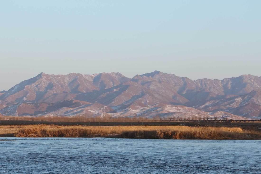 Landschaft Nordkorea