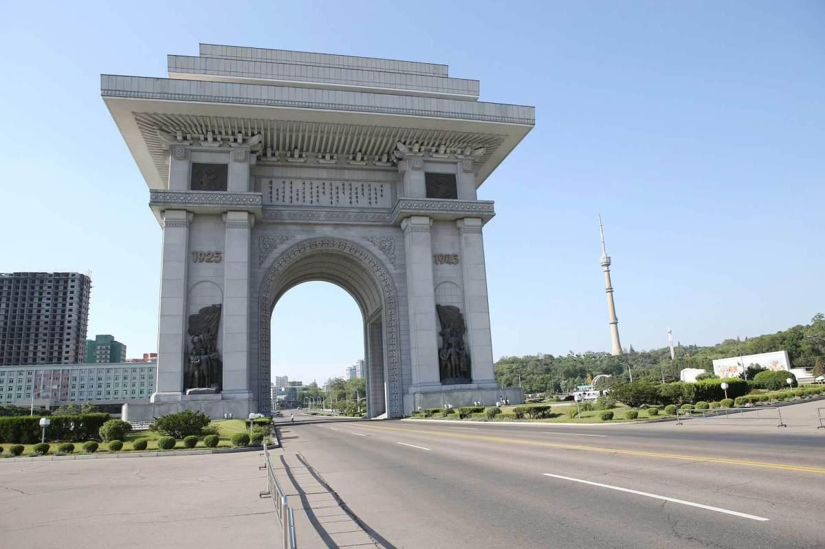 Triumphbogen Nordkorea