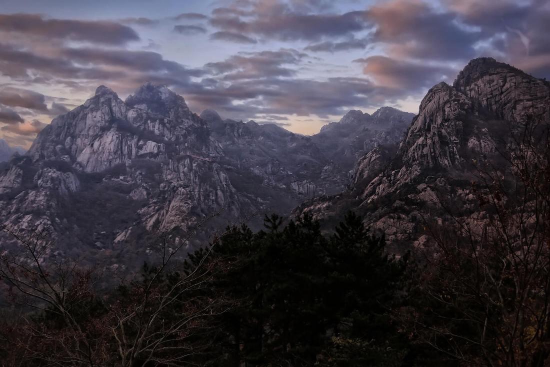 Berge in Nordkorea