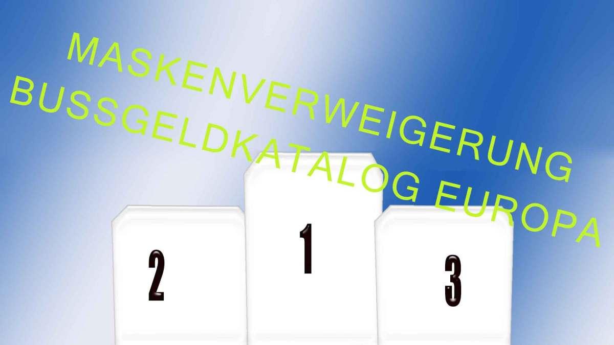 Siegertreppe-Maskenverweigerung-Bussgeld-Hitliste