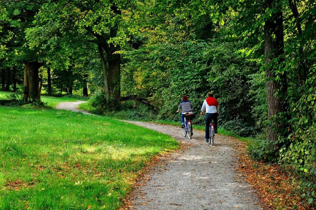 Biketouren im Chiemgauer Land Bayern