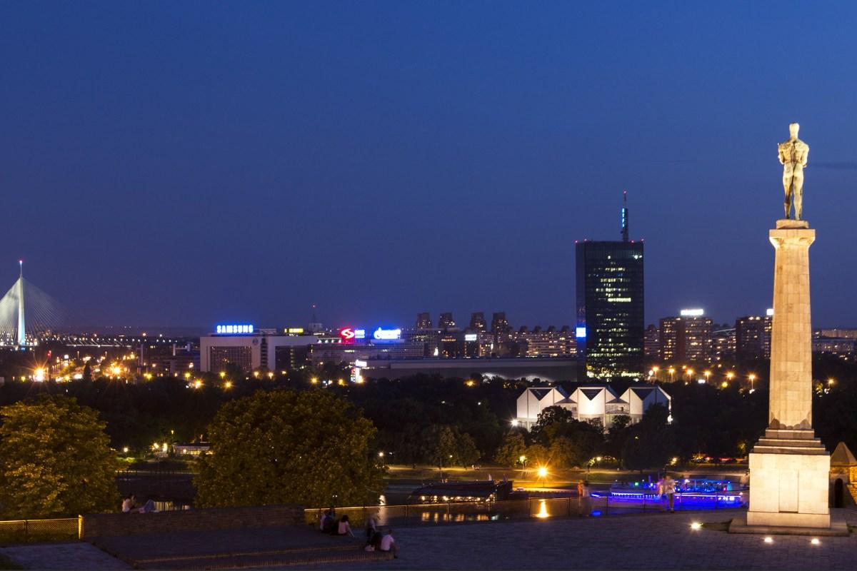 Skyline von Belgrad