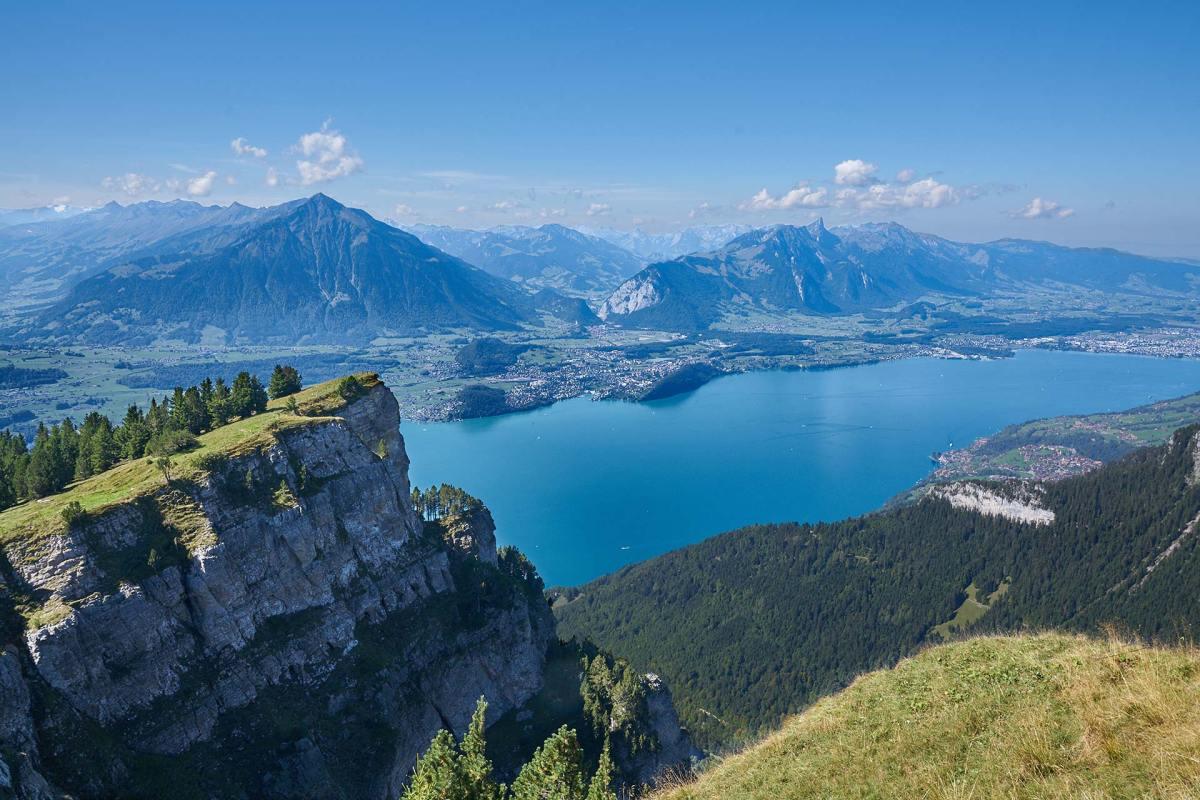 Beatenberg in der Schweiz