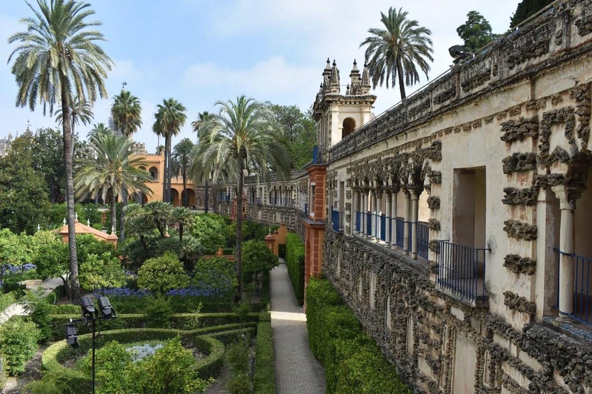 Alcázar und Jardines de Murillo