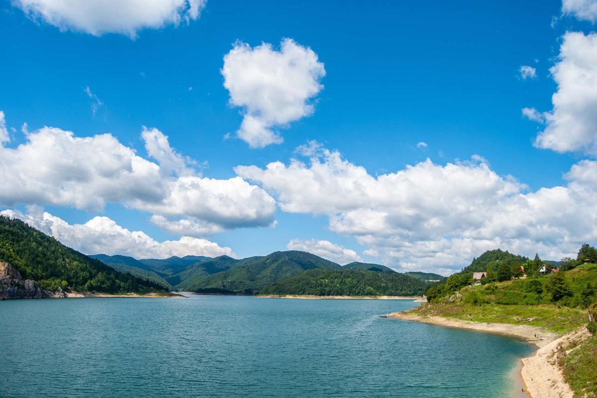 Blick auf das Tara Gebirge