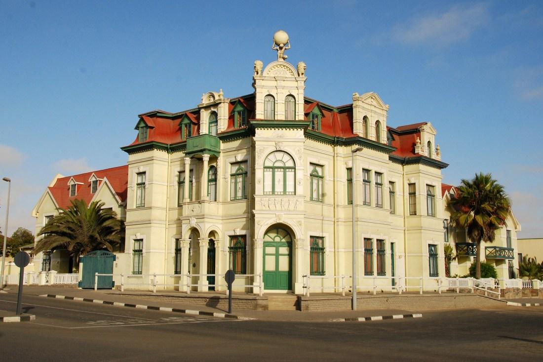 Gebäude aus der Kolonialzeit in Swakopmund