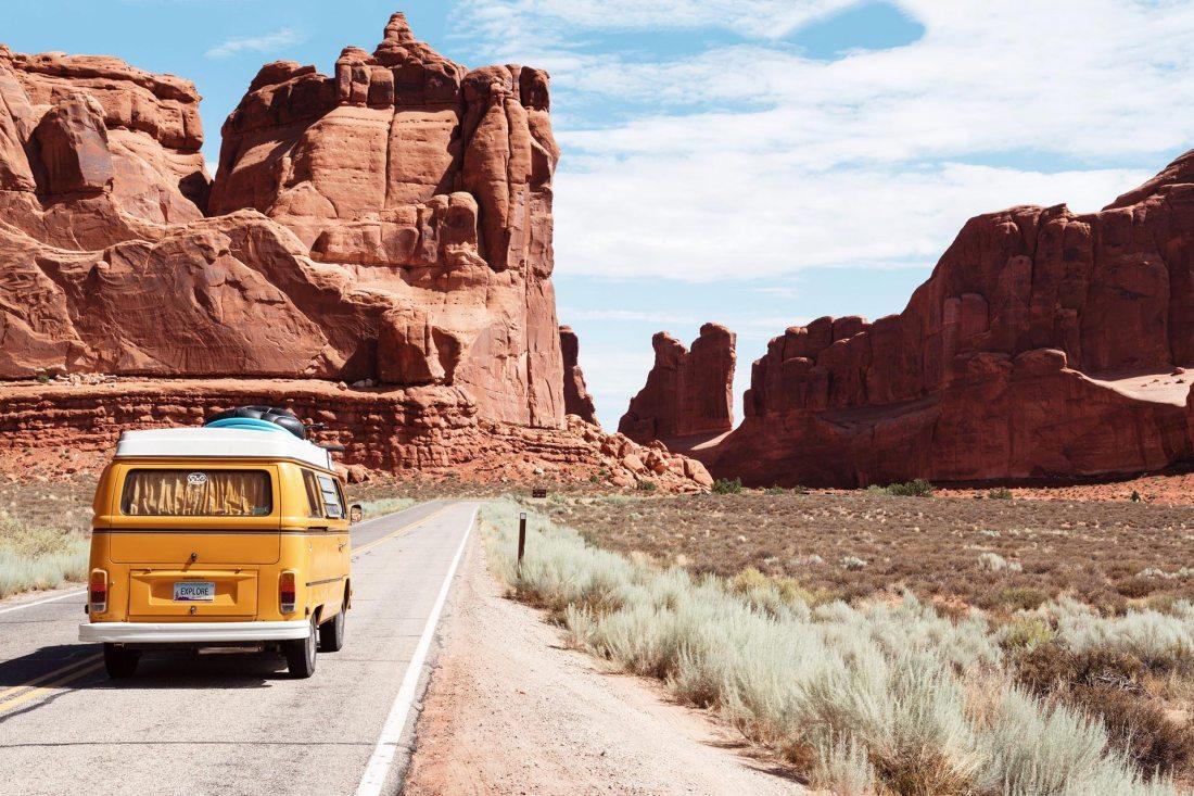 Mit dem kleinen Bus um die große Welt