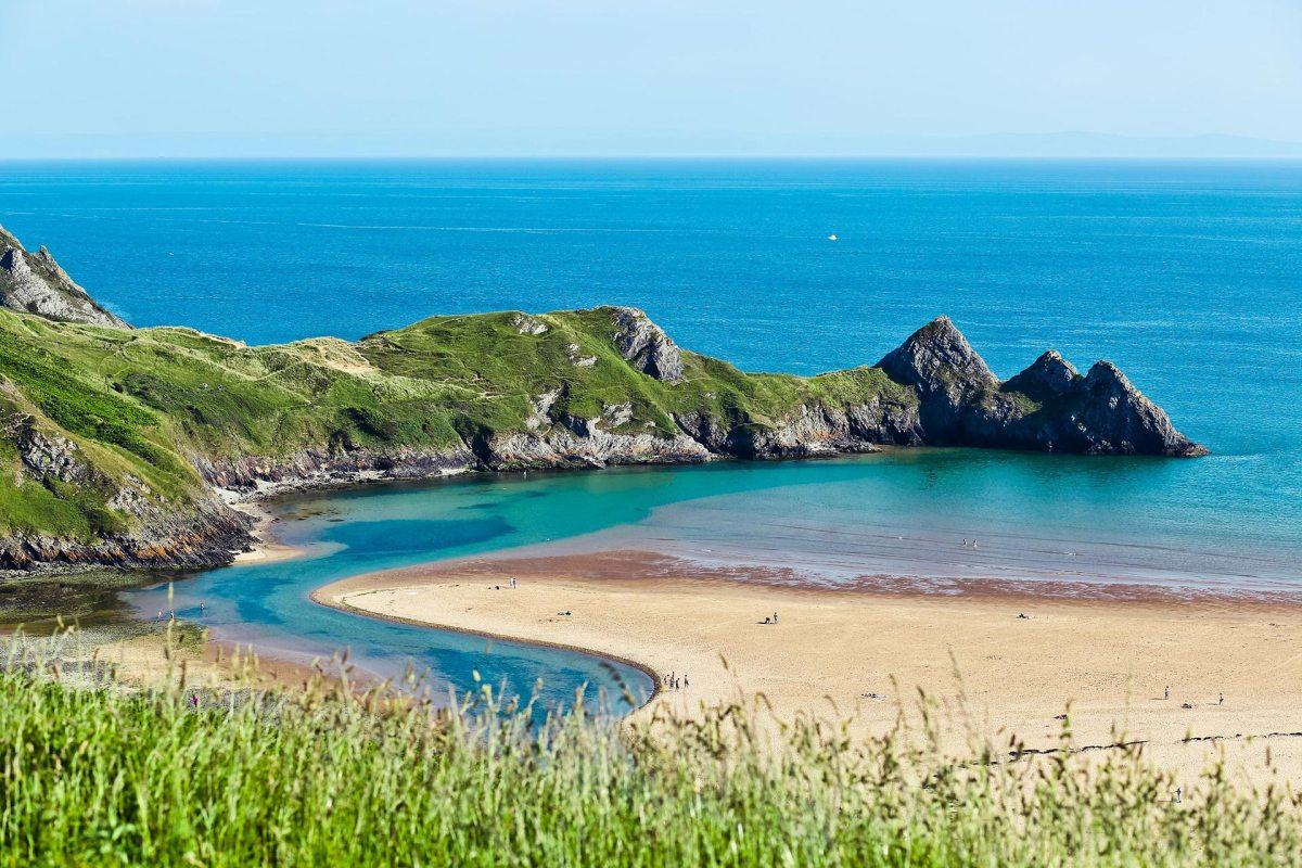 Wales, Küstenlandschaft