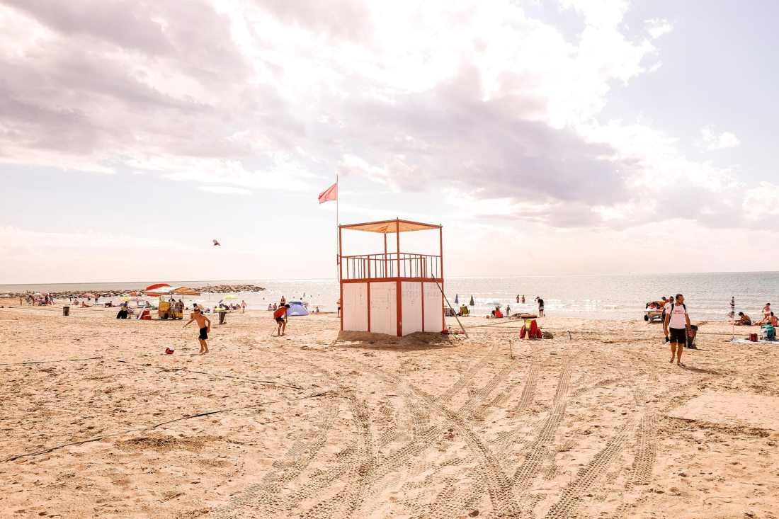 Entspannt am Strand...