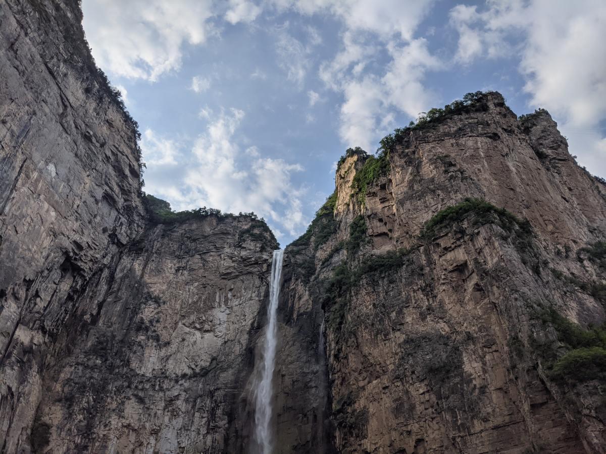 Wasserfall Berge Henan, China