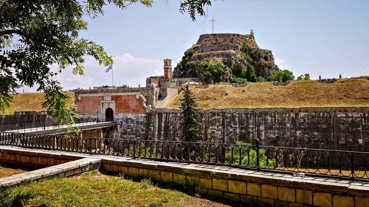 Venezianische Festungsanlage Korfu