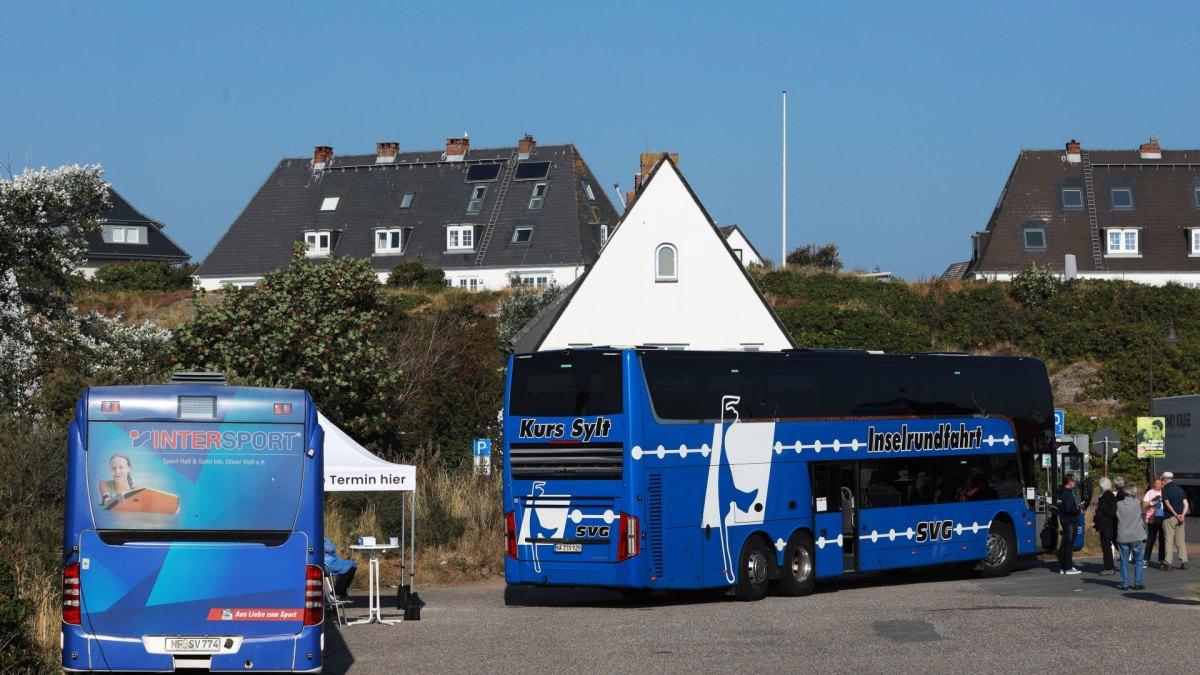 Sylt, Inselrundfahrt, SVG, Bus