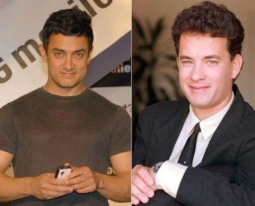 Aamir Khan and Tom Hanks