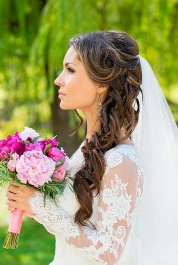 37 Half Up Half Down Wedding Hairstyles Anyone Would Love