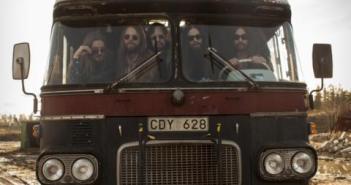 Siena Root on the Tourbus