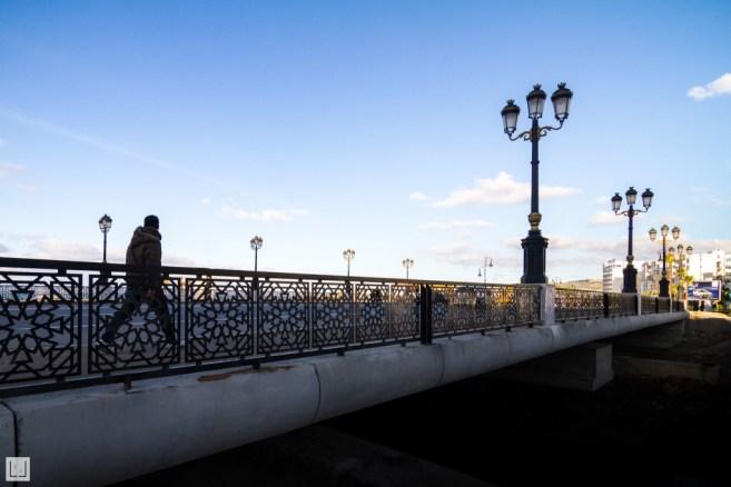 Doublement du pont sur l'oued de Malabata