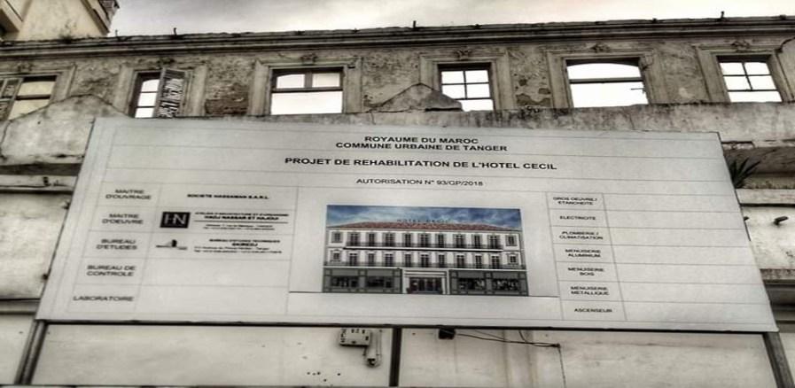 Réhabilitation de l'hôtel Cécile