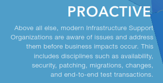 Proactive Infrastructure Support Services