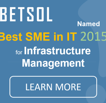 Best SME in IT for Infrastructure Management | Betsol