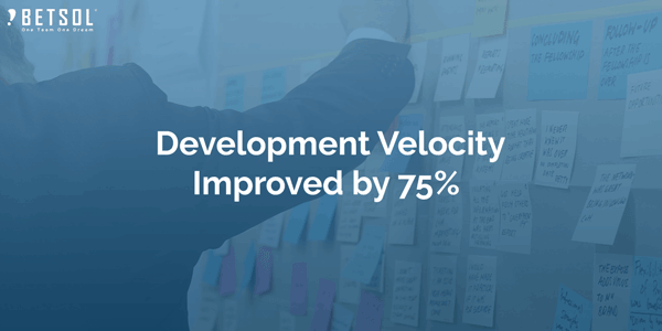 Development-Velocity-Improved-by-75%